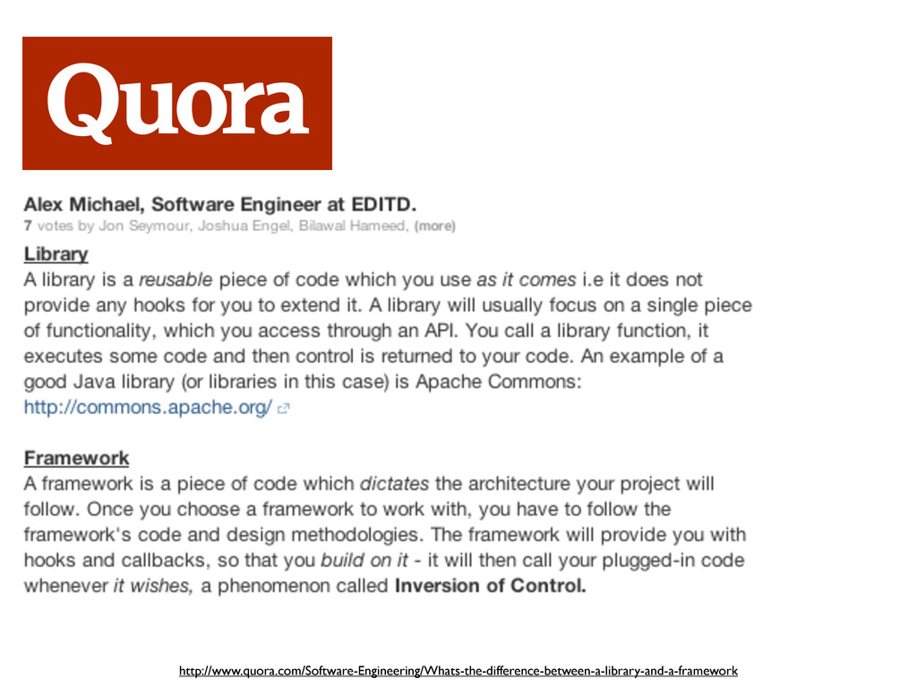 http://www.quora.com/Software-Engineering/Whats...