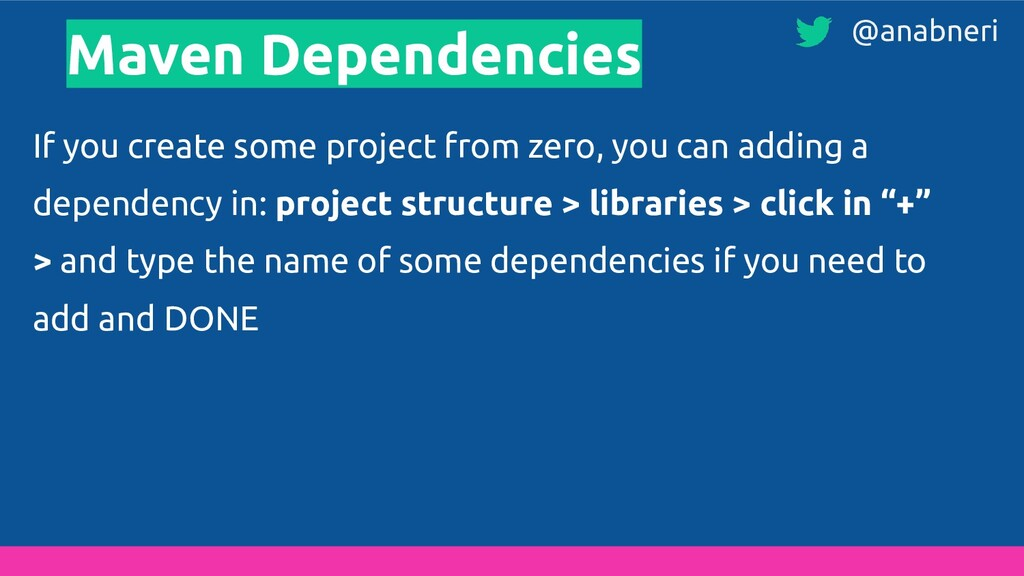Maven Dependencies If you create some project f...