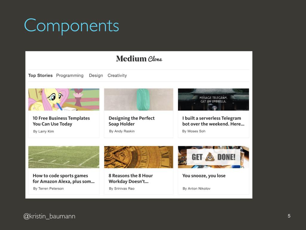 @kristin_baumann Components 5