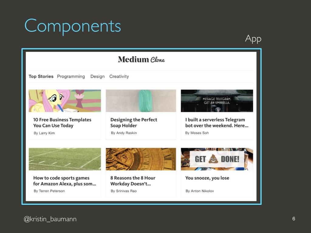 @kristin_baumann 6 App Components