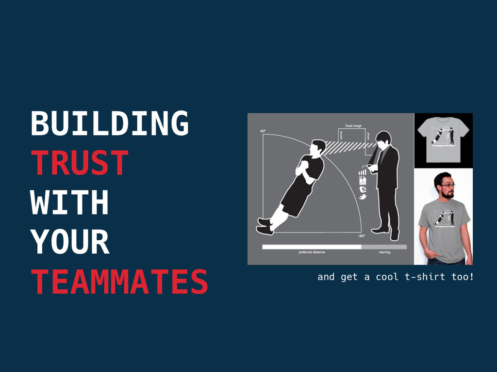 BUILDING TRUST  WITH  YOUR  TEAMMATES and ...