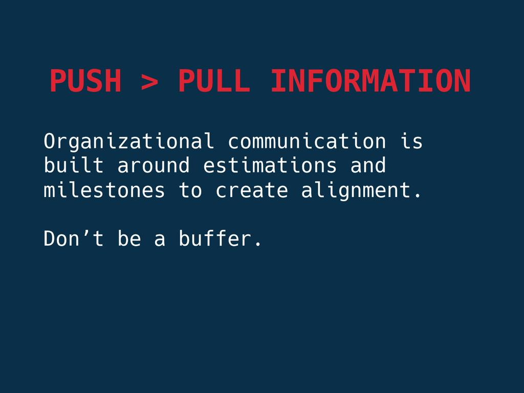 Organizational communication is built around es...