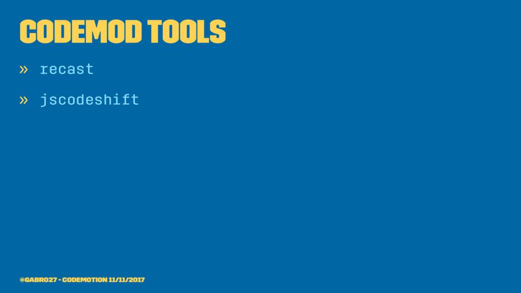 codemod tools » recast » jscodeshift @gabro27 -...