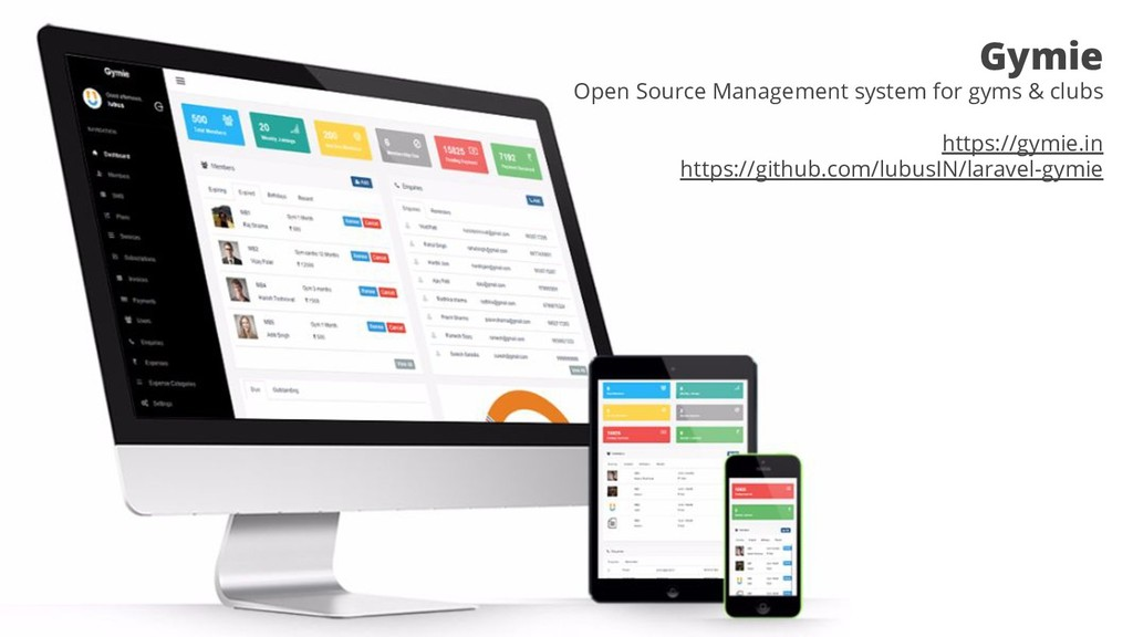 Gymie Open Source Management system for gyms & ...