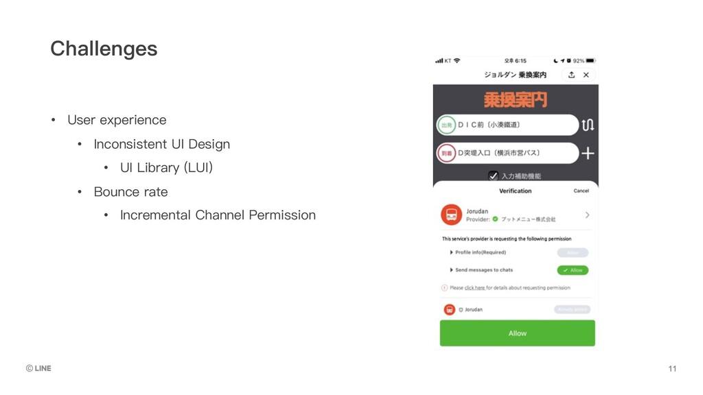 • User experience • Inconsistent UI Design • UI...