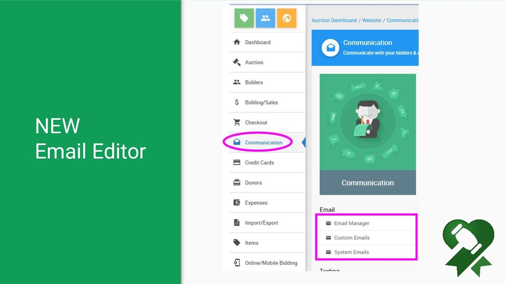 NEW Email Editor