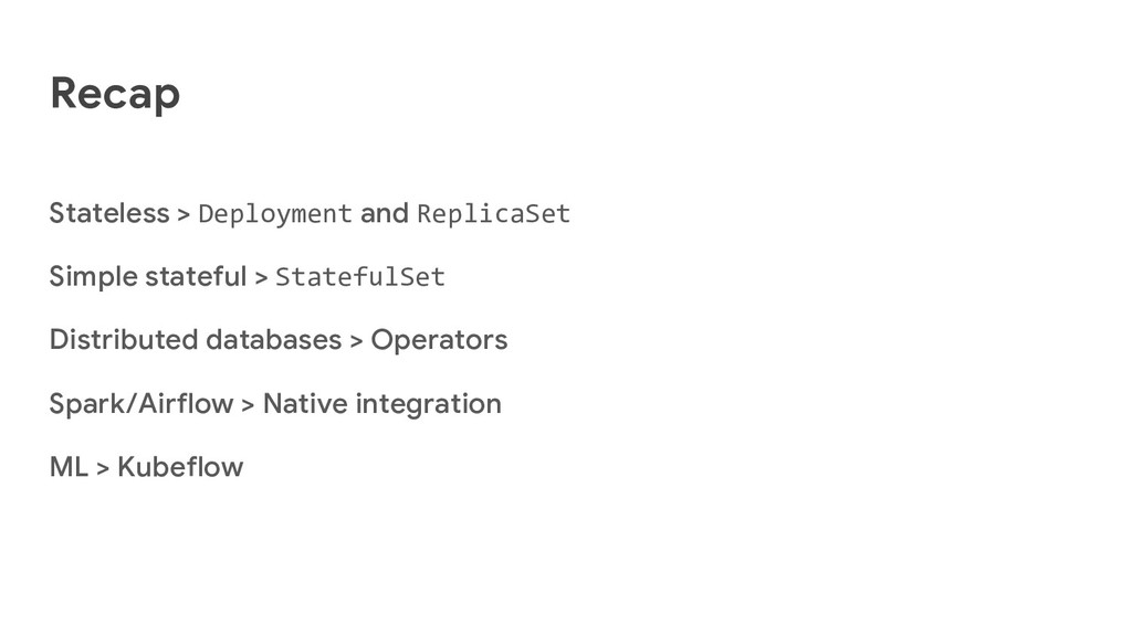 Recap Stateless > Deployment and ReplicaSet Sim...