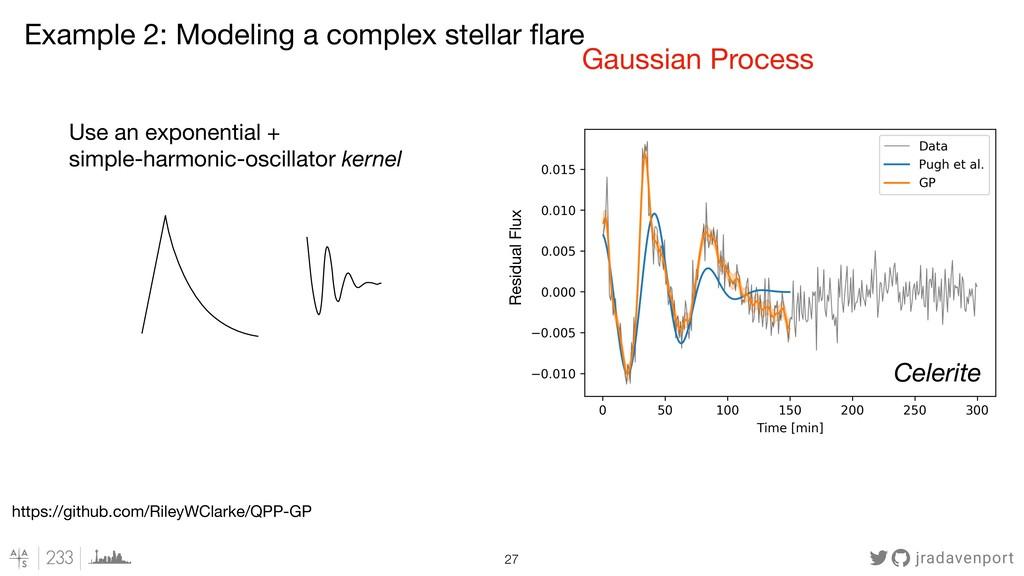 jradavenport !27 Residual Flux Gaussian Process...