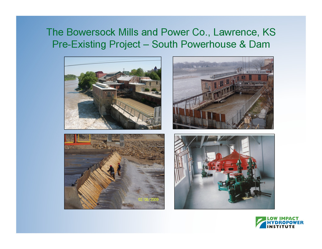 The Bowersock Mills and Power Co., Lawrence, KS...