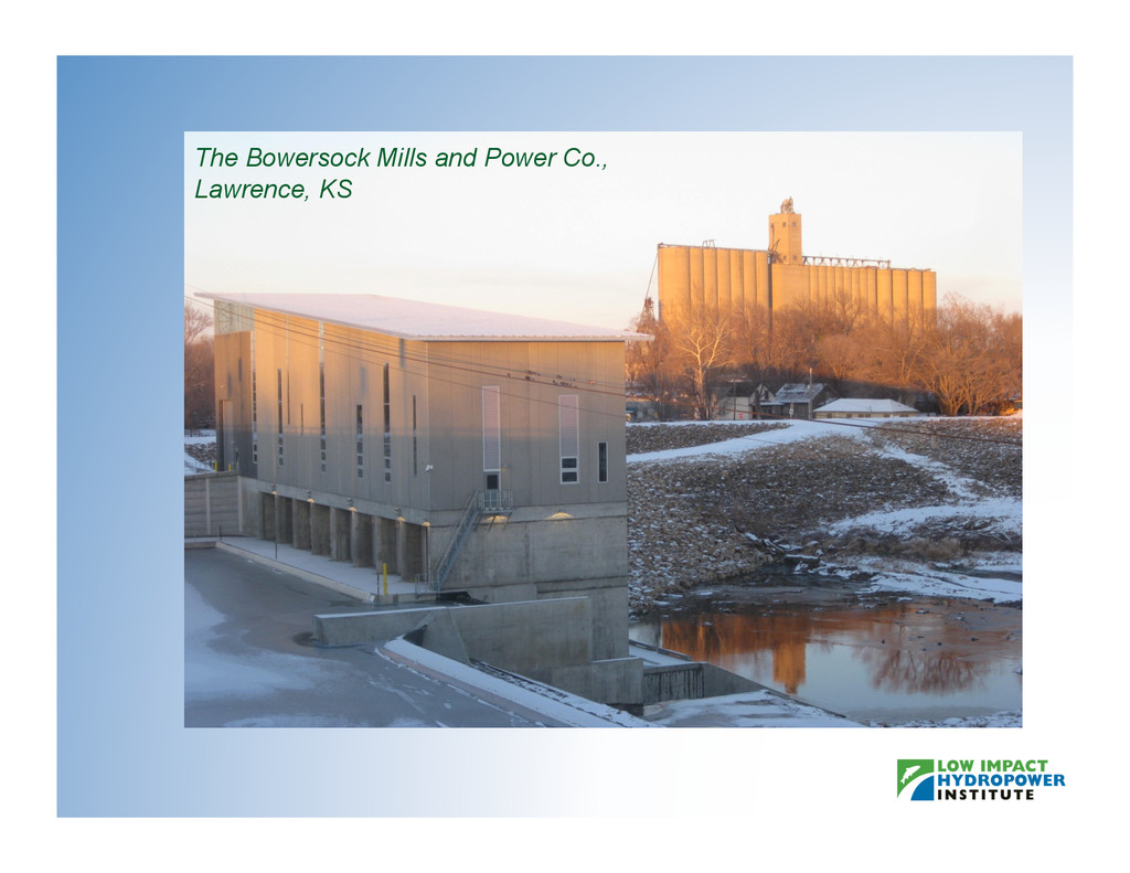The Bowersock Mills and Power Co., Lawrence, KS