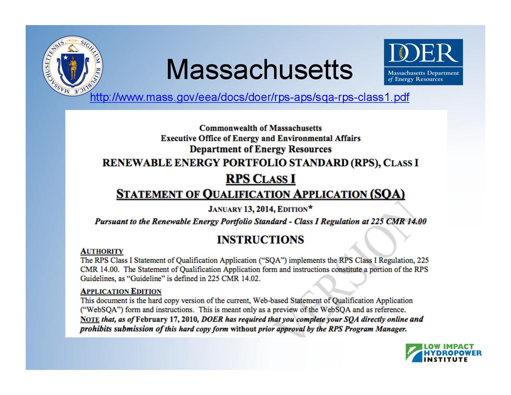 Massachusetts http://www.mass.gov/eea/docs/doer...