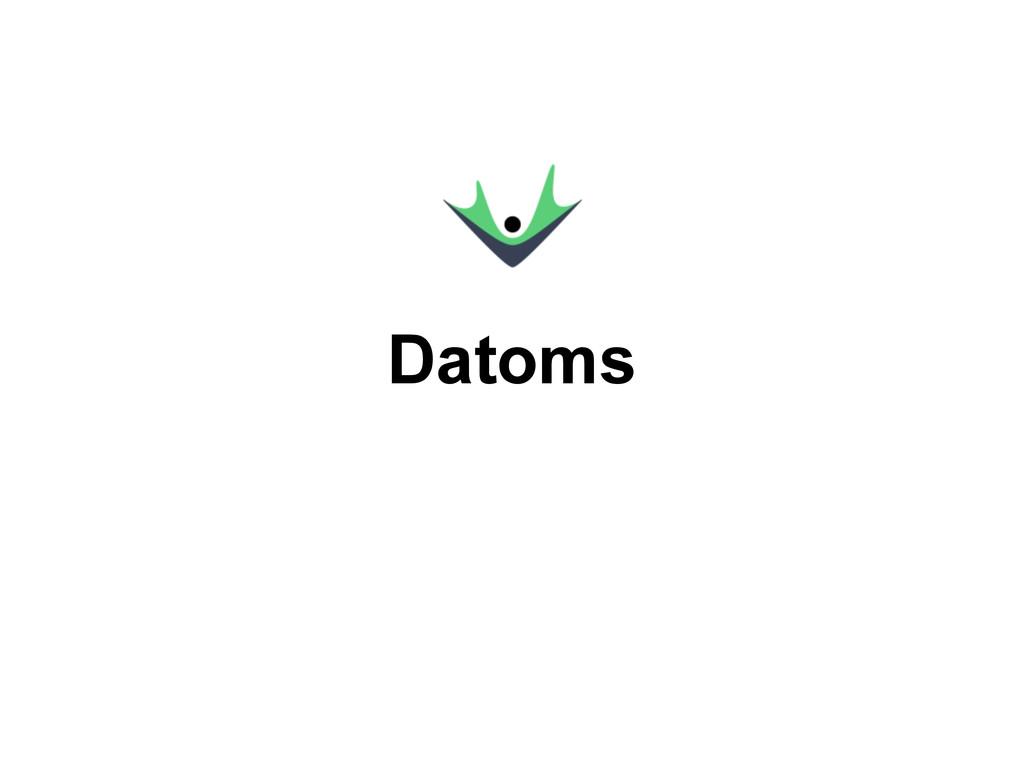 Datoms