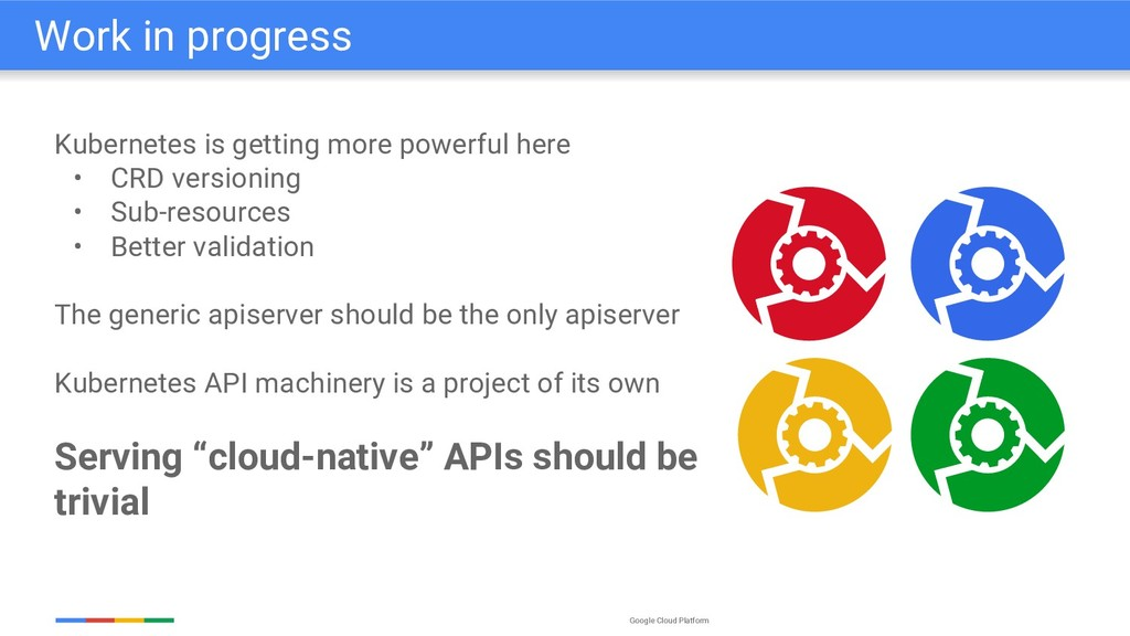Google Cloud Platform Kubernetes is getting mor...