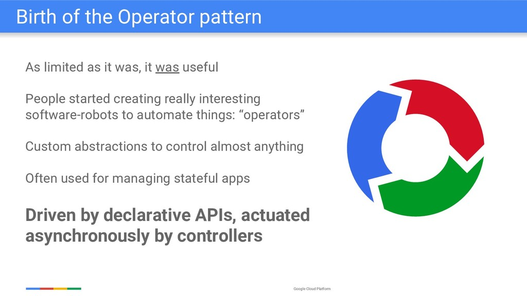 Google Cloud Platform As limited as it was, it ...