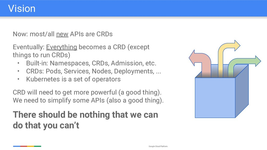 Google Cloud Platform Now: most/all new APIs ar...