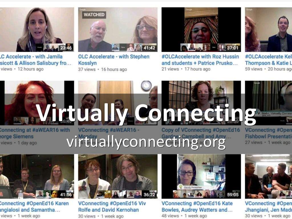 Virtually Connecting virtuallyconnecting.org