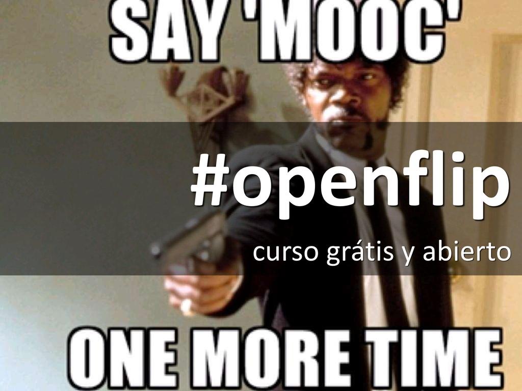 #openflip curso grátis y abierto