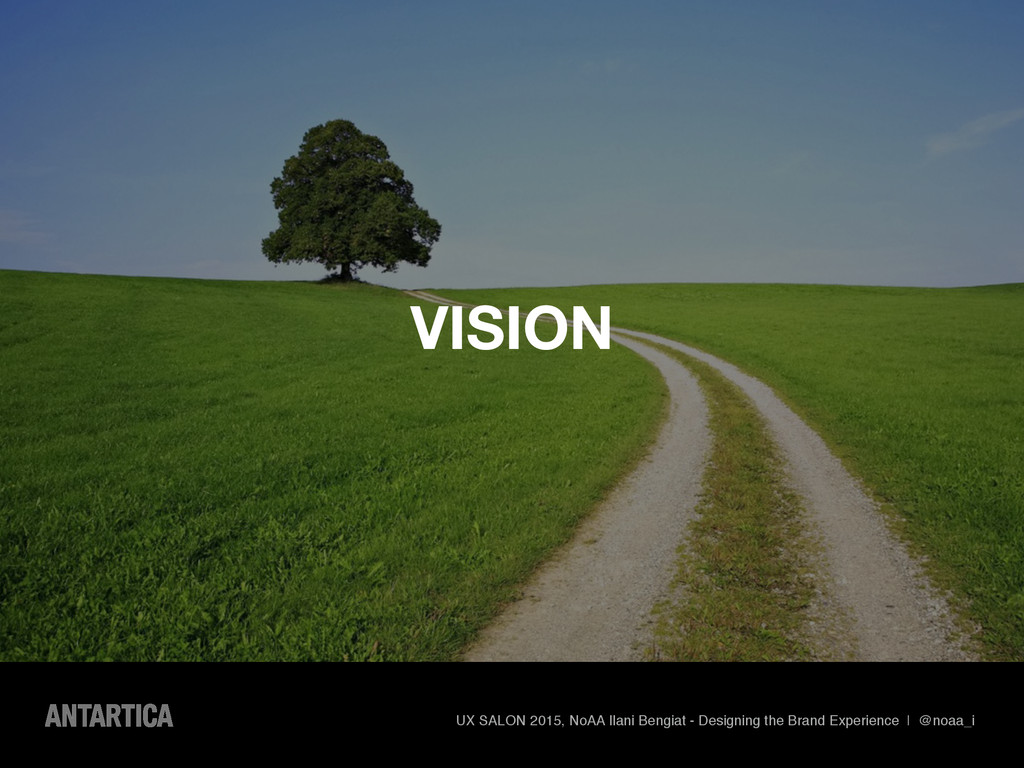 VISION UX SALON 2015, NoAA Ilani Bengiat - Desi...