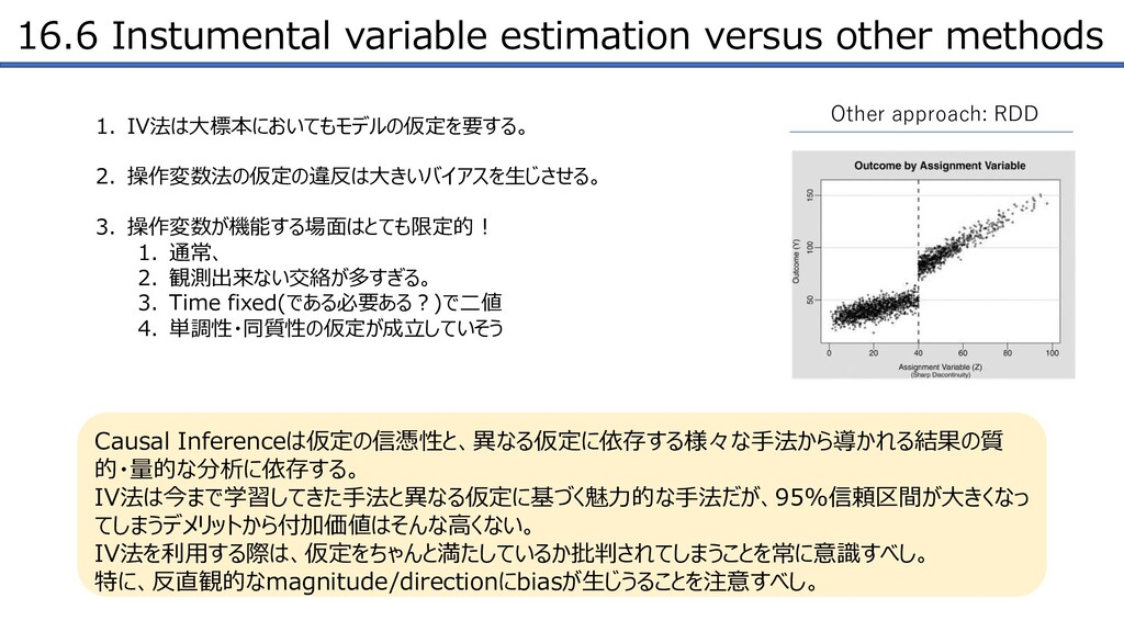 16.6 Instumental variable estimation versus oth...