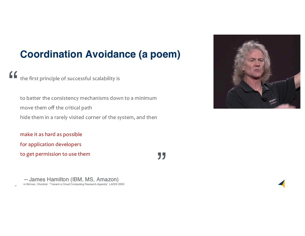 17 Coordination Avoidance (a poem) the first pri...