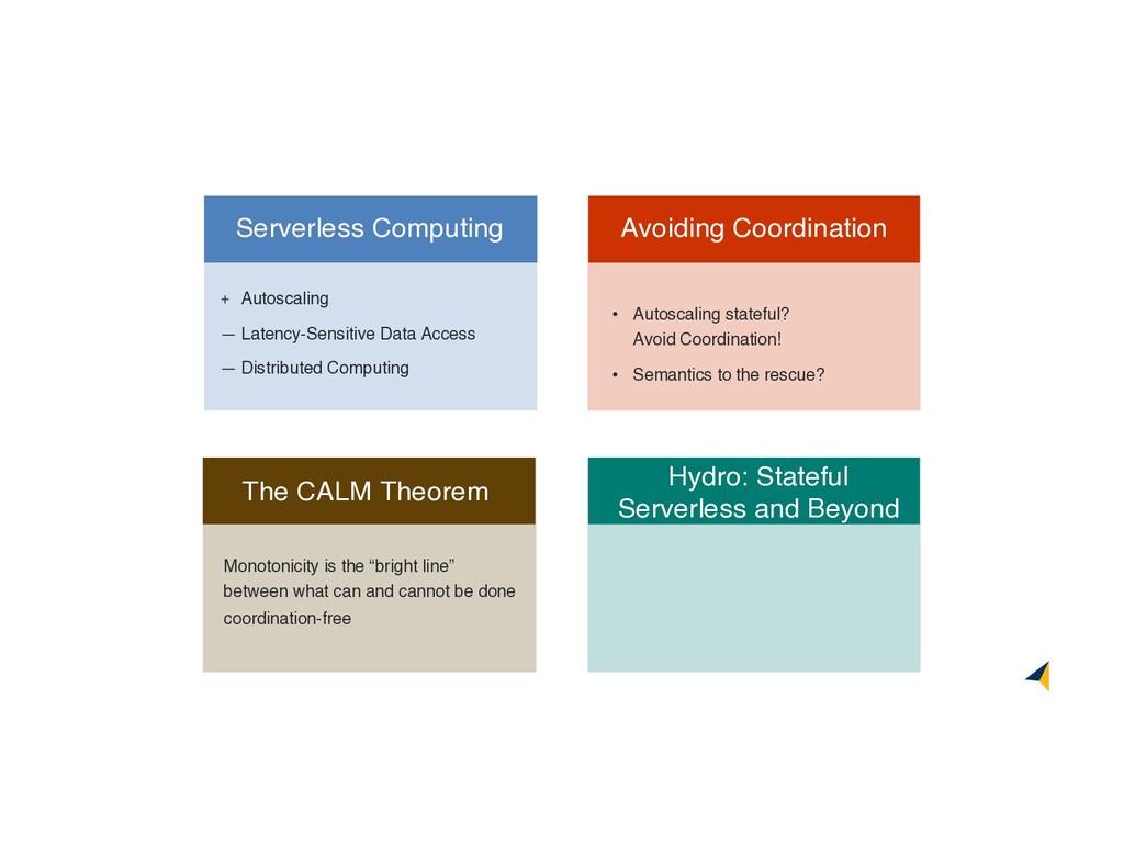 Hydro: Stateful Serverless and Beyond • Autosca...