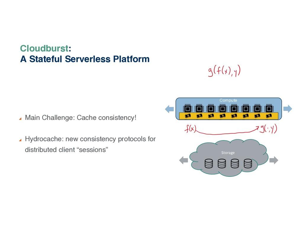 Cloudburst: A Stateful Serverless Platform Main...