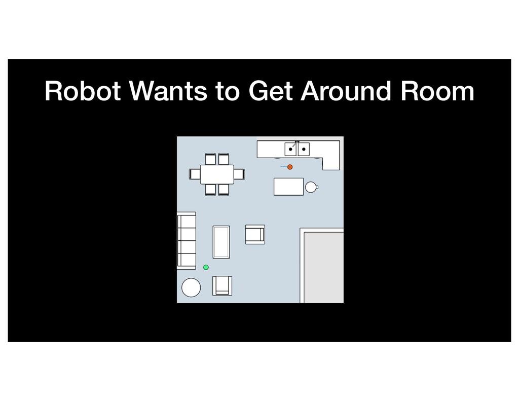 Robot Wants to Get Around Room