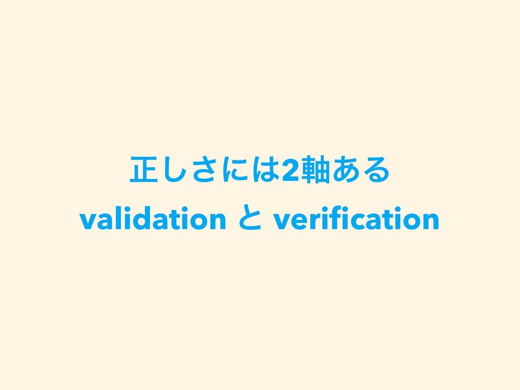 ਖ਼͠͞ʹ2࣠͋Δ validation ͱ verification