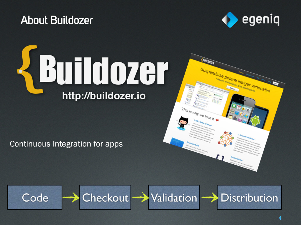 About Buildozer 4 Checkout Validation Distribut...