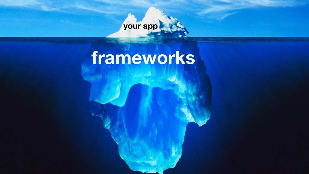 your app frameworks