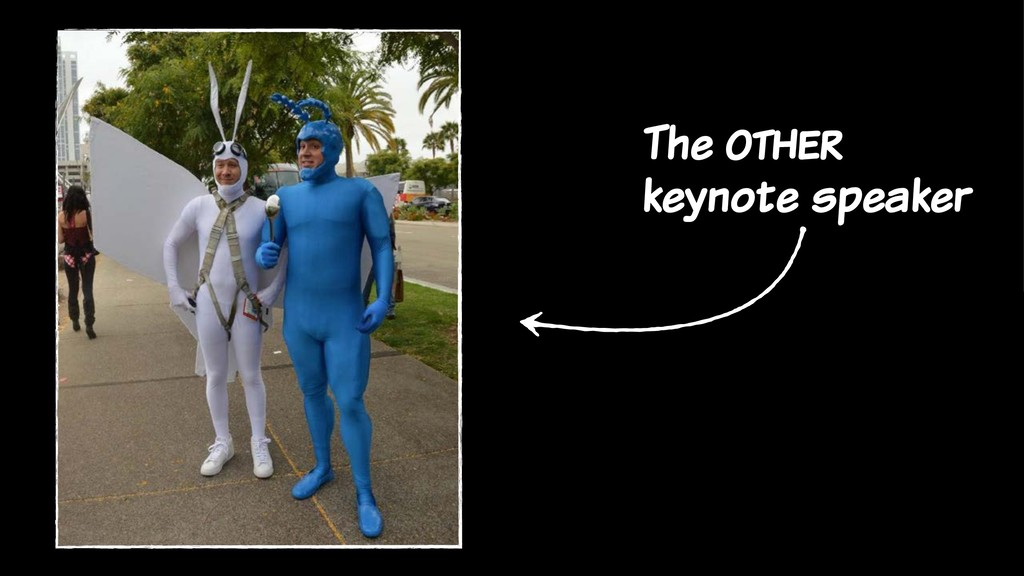 The other keynote speaker