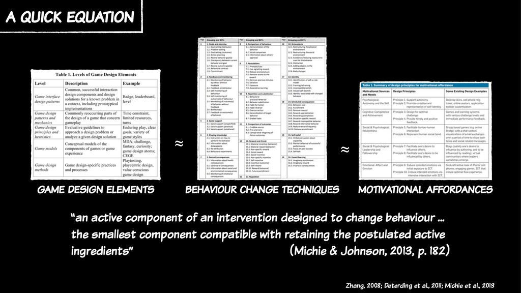 a quick equation game design elements motivatio...