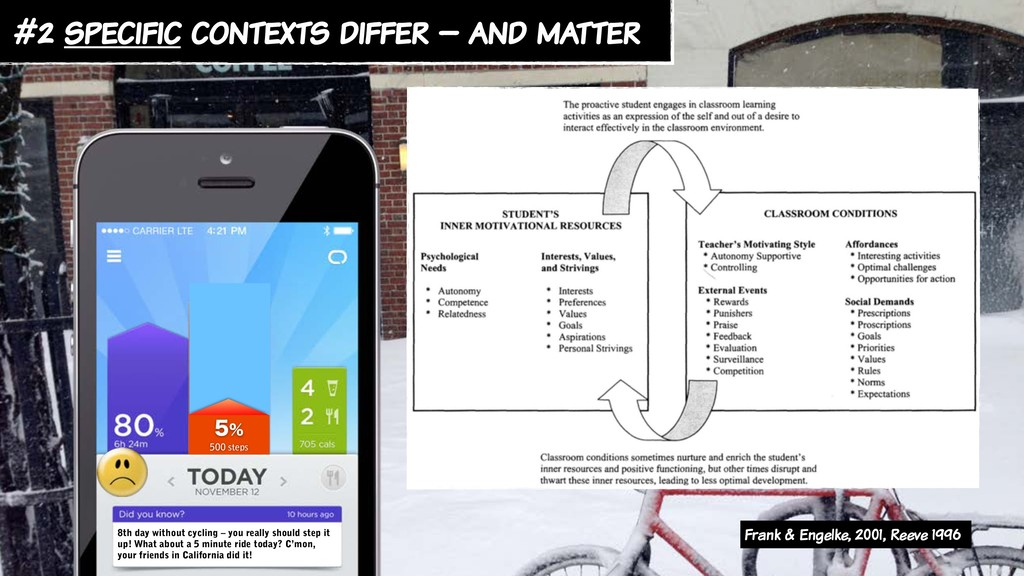 #2 specific contexts differ – and matter  50...