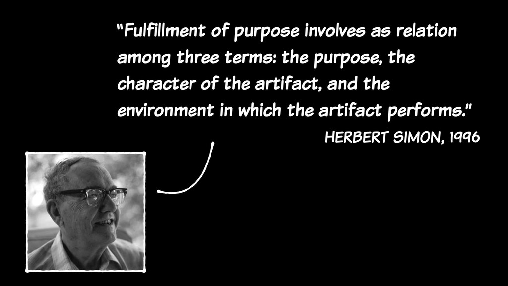 """""""Fulfillment of purpose involves as relation am..."""
