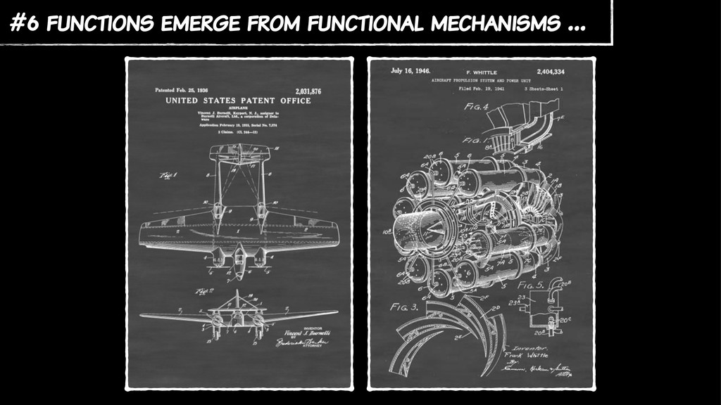 #6 functions emerge from functional mechanisms …