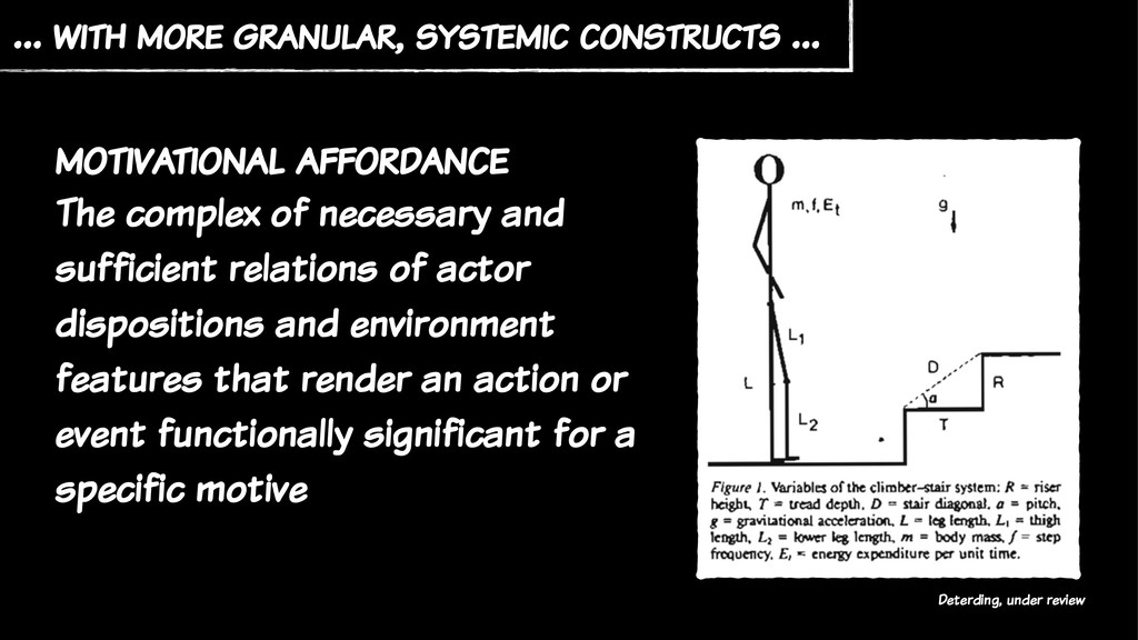 … with more granular, systemic constructs … Det...