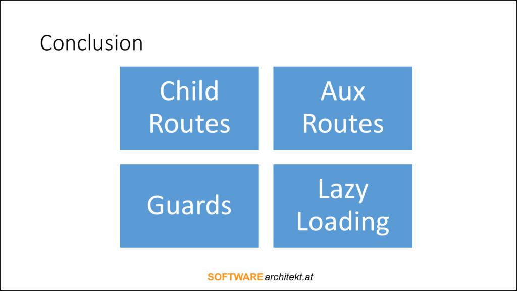 Conclusion Child Routes Aux Routes Guards Lazy ...