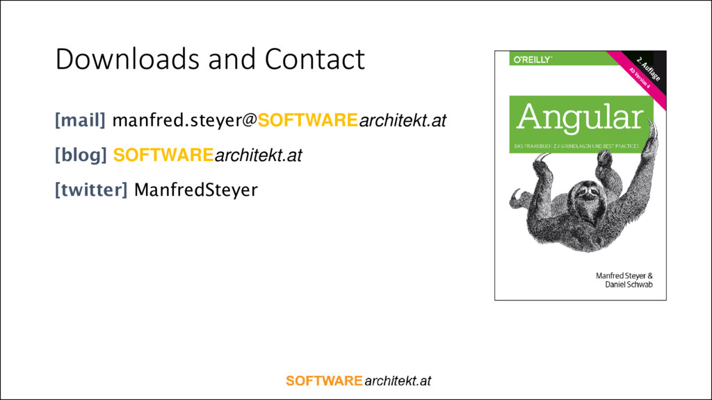 Downloads and Contact [mail] manfred.steyer@SOF...