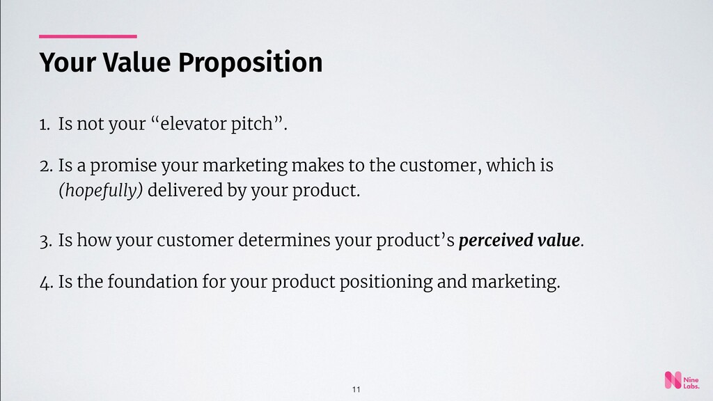 """11 1. Is not your """"elevator pitch"""". 2. Is a pro..."""