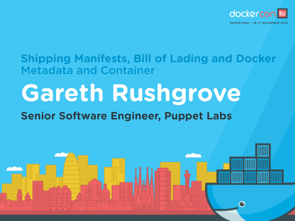 Shipping Manifests, Bill of Lading and Docker M...