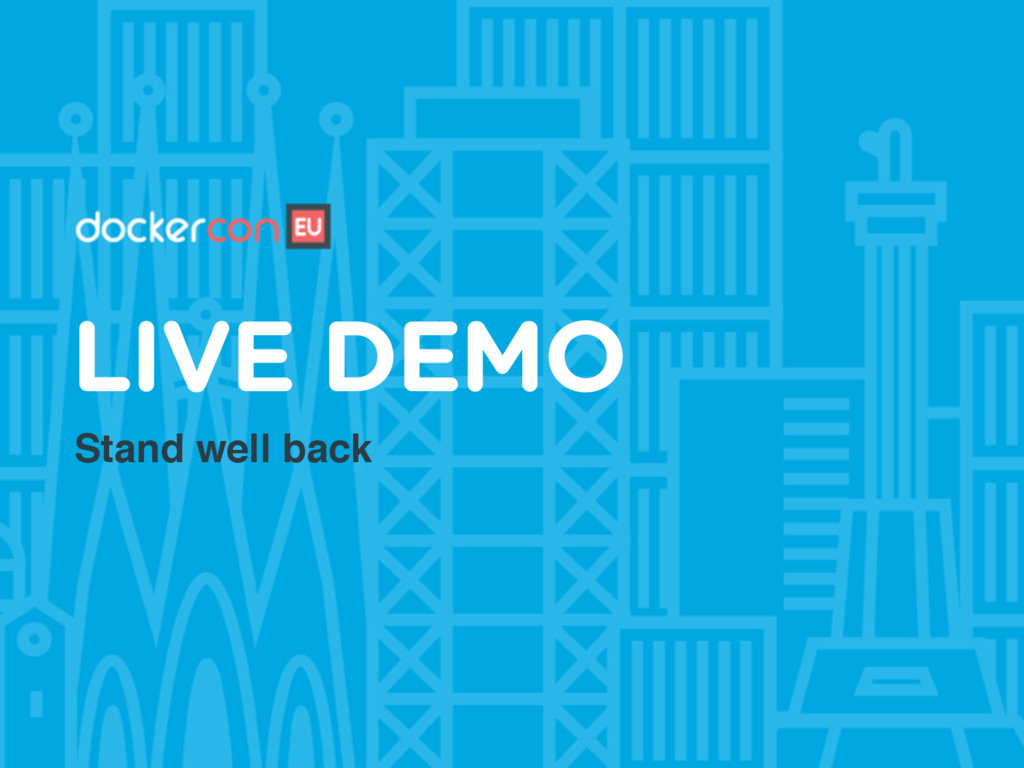 Stand well back LIVE DEMO