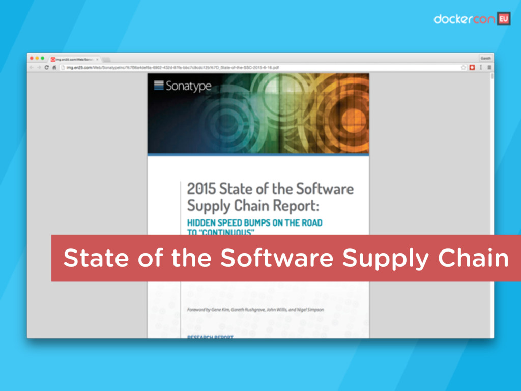 State of the Software Supply Chain
