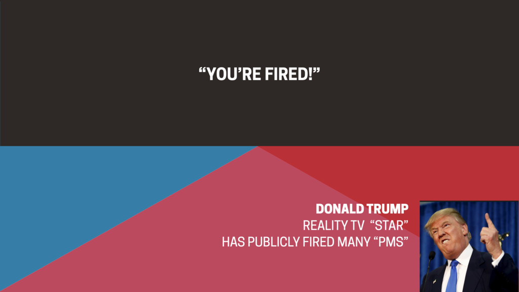 """YOU'RE FIRED!"" DONALD TRUMP REALITY TV ""STAR"" ..."