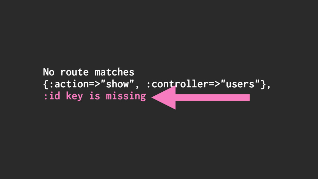 """No route matches {:action=>""""show"""", :controller=..."""