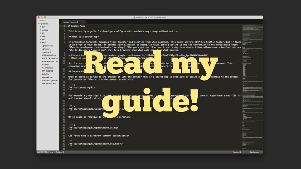 Read my guide!