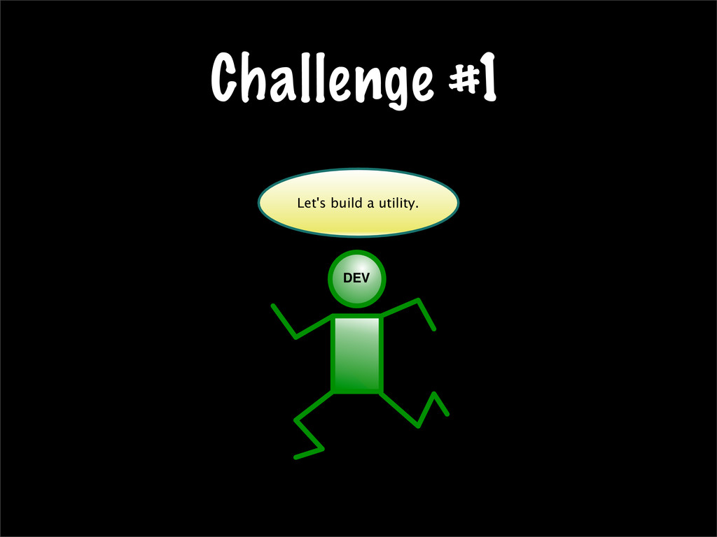 Challenge #1 Let's build a utility. DEV Let's b...