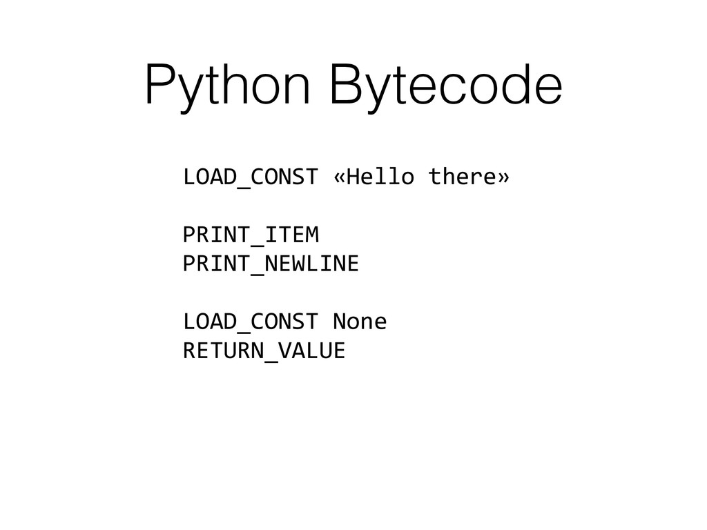 LOAD_CONST	