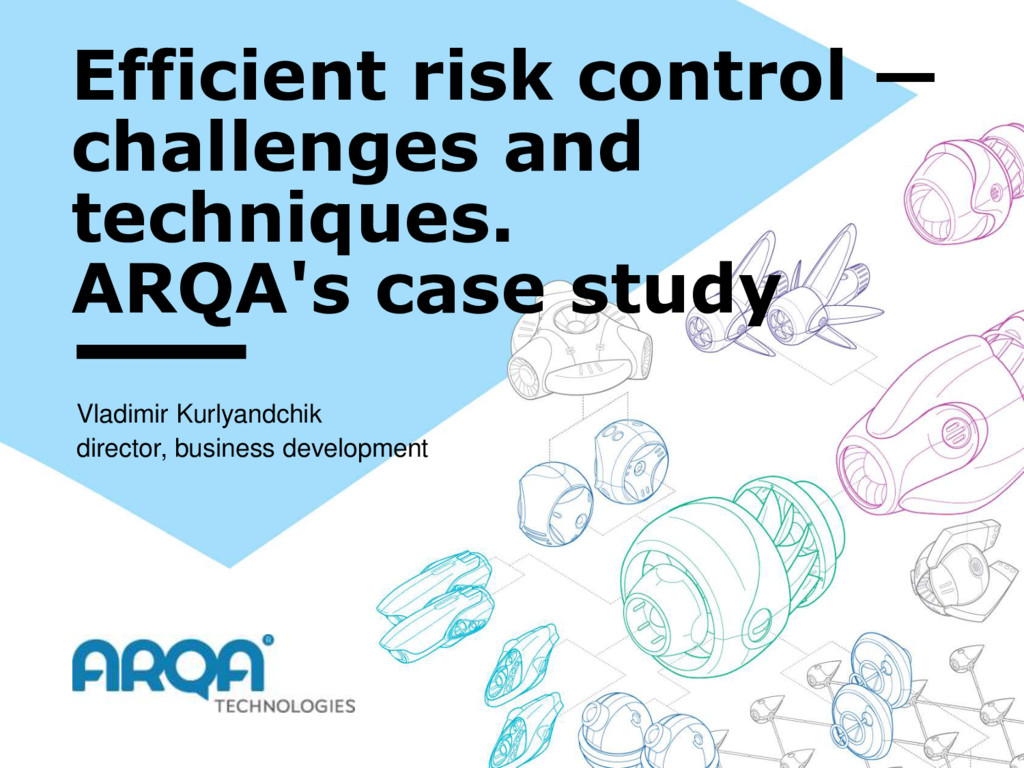 Efficient risk control — challenges and techniq...