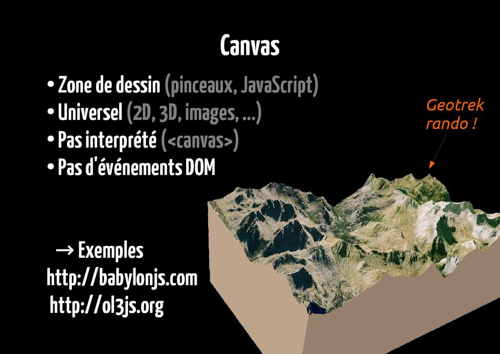Canvas ● Zone de dessin (pinceaux, JavaScript) ...