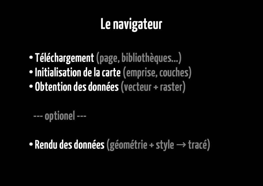Le navigateur ● Téléchargement (page, bibliothè...